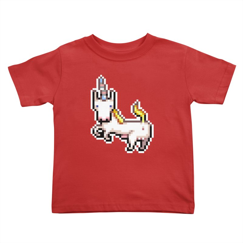 Proud Pony Kids Toddler T-Shirt by AnimalBro's Artist Shop