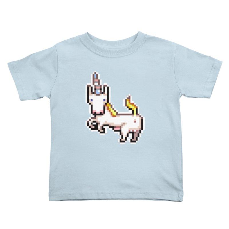 Proud Pony Kids Toddler T-Shirt by AnimalBro's Artist Shop