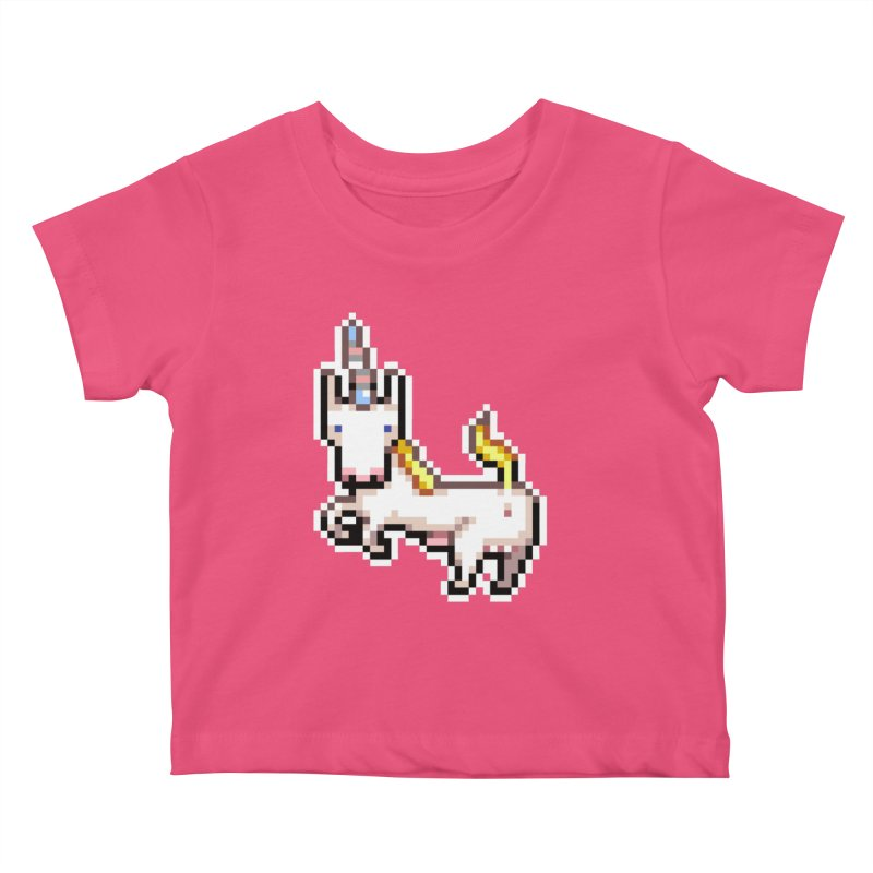 Proud Pony Kids Baby T-Shirt by AnimalBro's Artist Shop