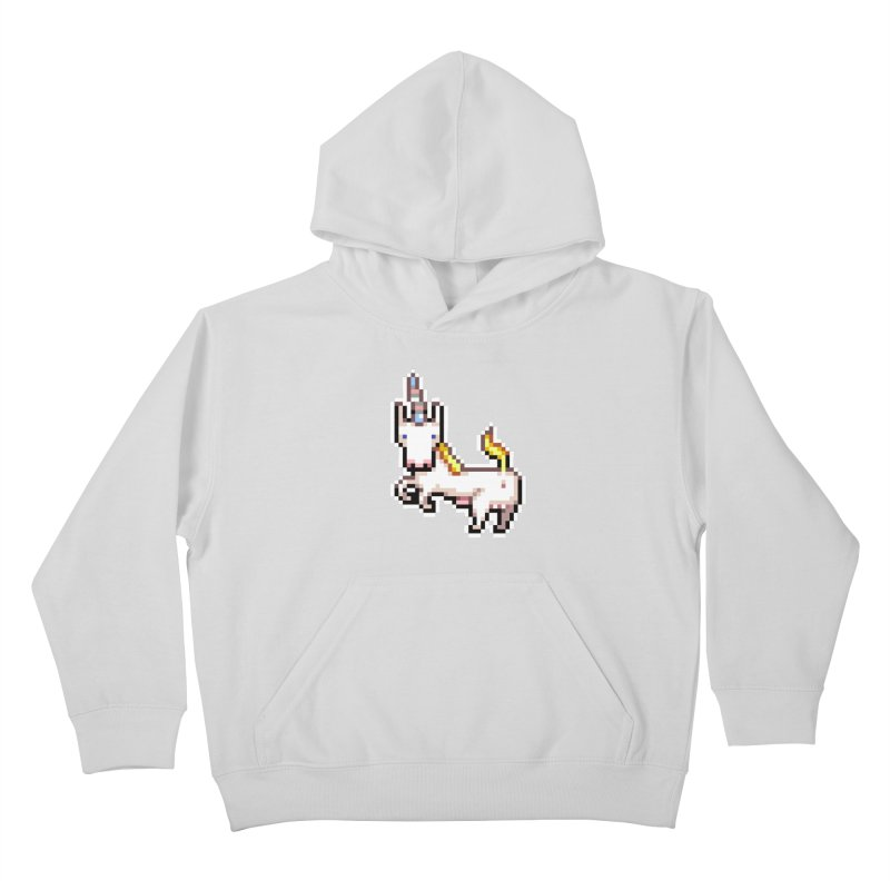 Proud Pony Kids Pullover Hoody by AnimalBro's Artist Shop