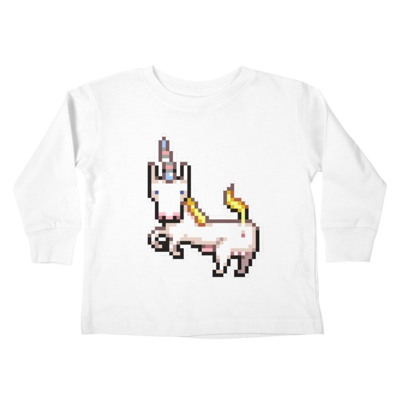 Proud Pony Kids Toddler Longsleeve T-Shirt by AnimalBro's Artist Shop