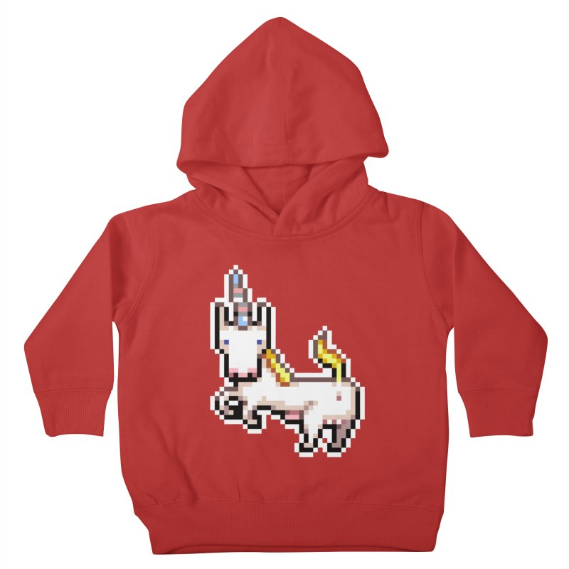 Proud Pony Kids Toddler Pullover Hoody by AnimalBro's Artist Shop