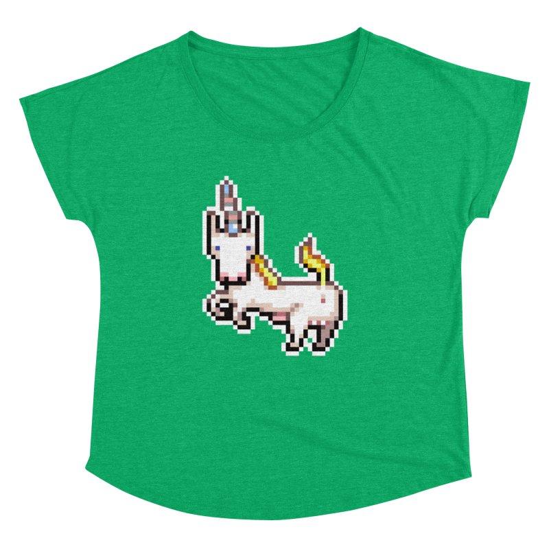 Proud Pony Women's Dolman Scoop Neck by AnimalBro's Artist Shop