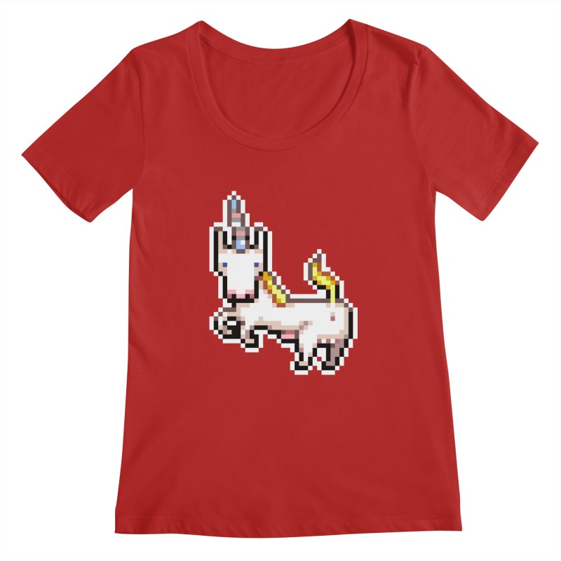 Proud Pony Women's Scoopneck by AnimalBro's Artist Shop