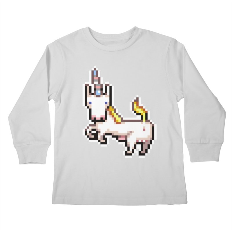Proud Pony Kids Longsleeve T-Shirt by AnimalBro's Artist Shop