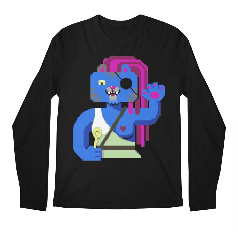 I'll Eat You With a Spoon Men's Longsleeve T-Shirt by AnimalBro's Artist Shop