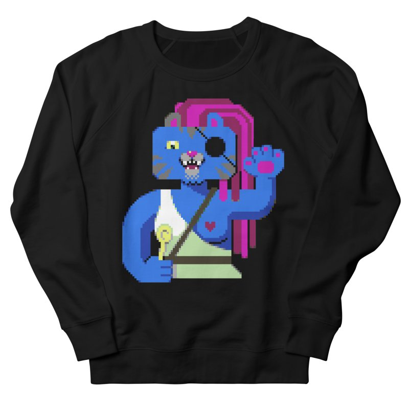 I'll Eat You With a Spoon Men's French Terry Sweatshirt by AnimalBro's Artist Shop