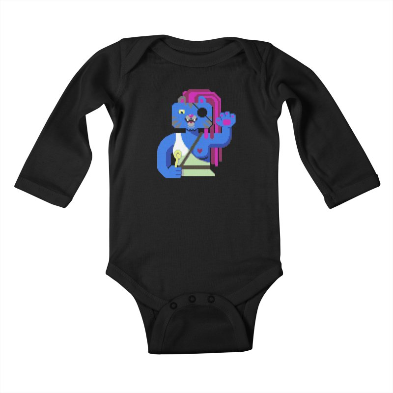 I'll Eat You With a Spoon Kids Baby Longsleeve Bodysuit by AnimalBro's Artist Shop