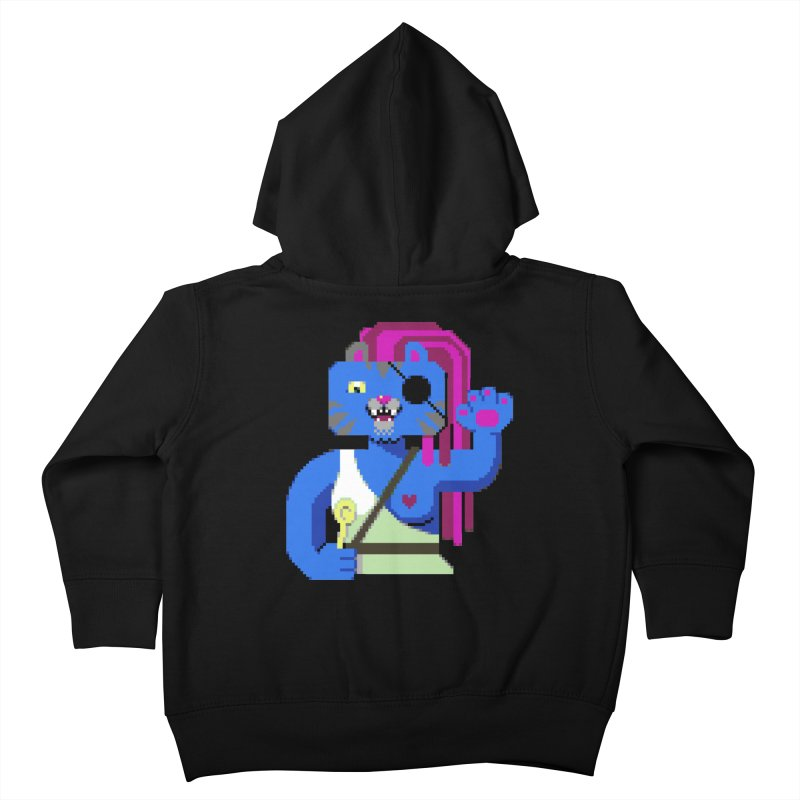 I'll Eat You With a Spoon Kids Toddler Zip-Up Hoody by AnimalBro's Artist Shop