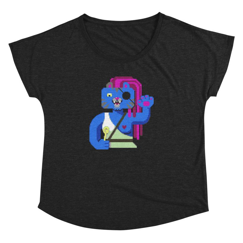 I'll Eat You With a Spoon Women's Dolman Scoop Neck by AnimalBro's Artist Shop