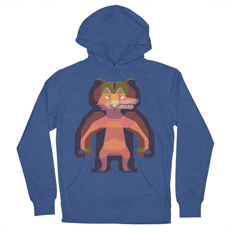 Shapeshifter Women's French Terry Pullover Hoody by AnimalBro's Artist Shop