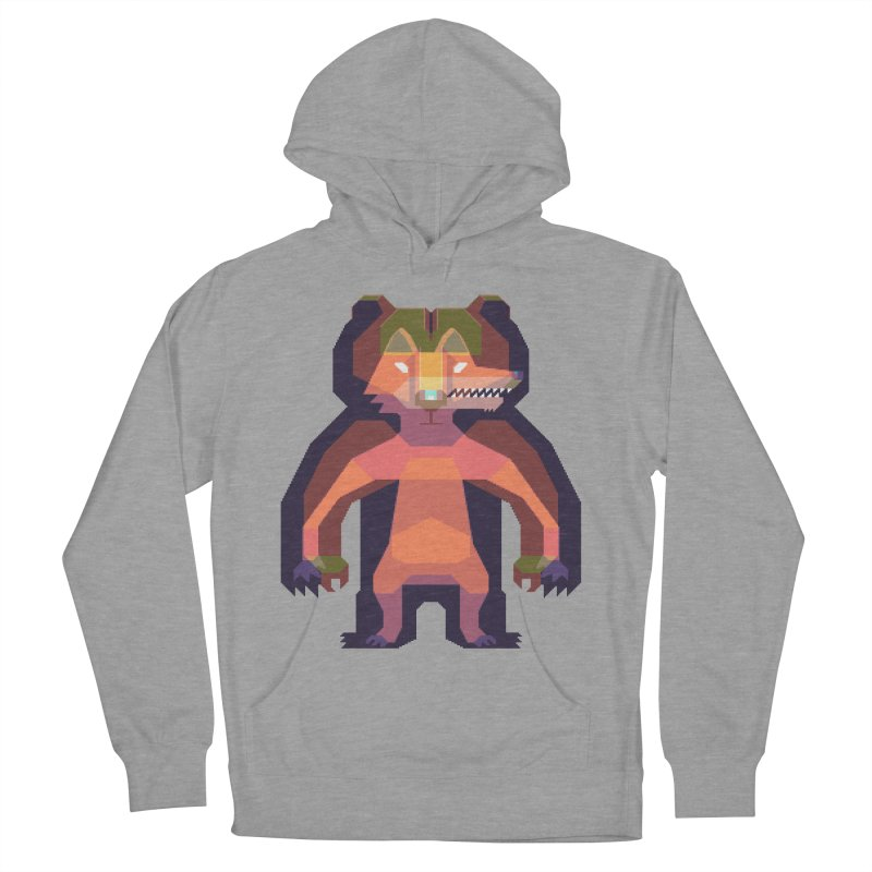 Shapeshifter Men's French Terry Pullover Hoody by AnimalBro's Artist Shop