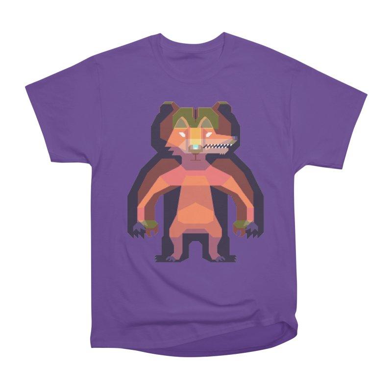 Shapeshifter Men's Heavyweight T-Shirt by AnimalBro's Artist Shop