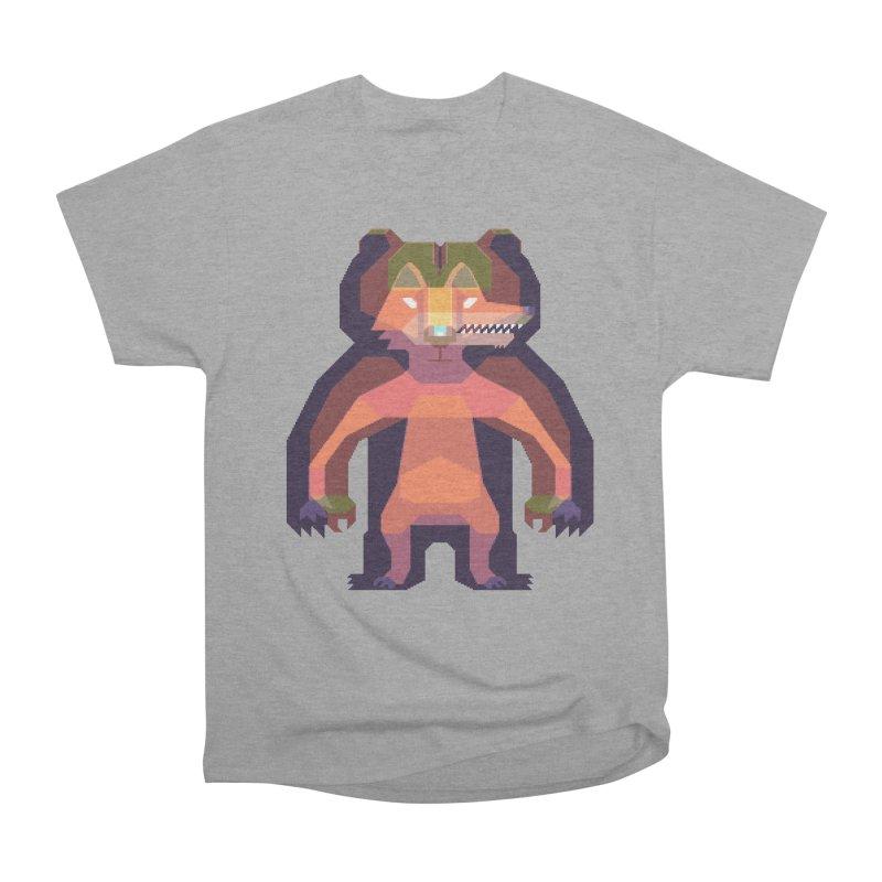 Shapeshifter Women's Heavyweight Unisex T-Shirt by AnimalBro's Artist Shop
