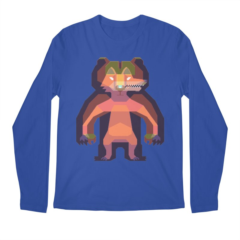 Shapeshifter Men's Regular Longsleeve T-Shirt by AnimalBro's Artist Shop