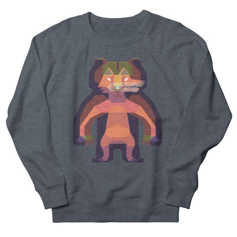 Shapeshifter Women's French Terry Sweatshirt by AnimalBro's Artist Shop