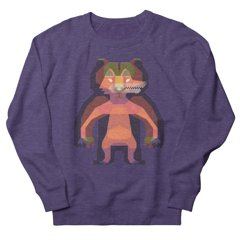 Shapeshifter Men's French Terry Sweatshirt by AnimalBro's Artist Shop