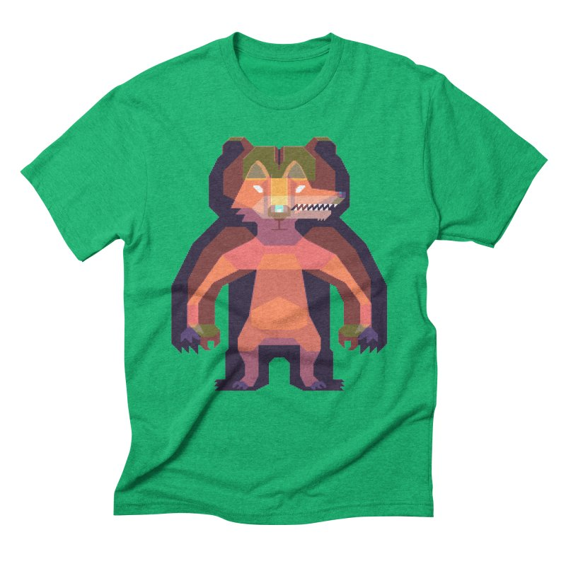 Shapeshifter Men's Triblend T-Shirt by AnimalBro's Artist Shop