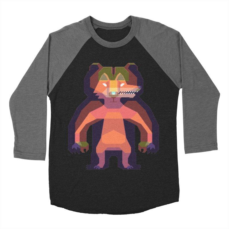 Shapeshifter Men's Baseball Triblend T-Shirt by AnimalBro's Artist Shop