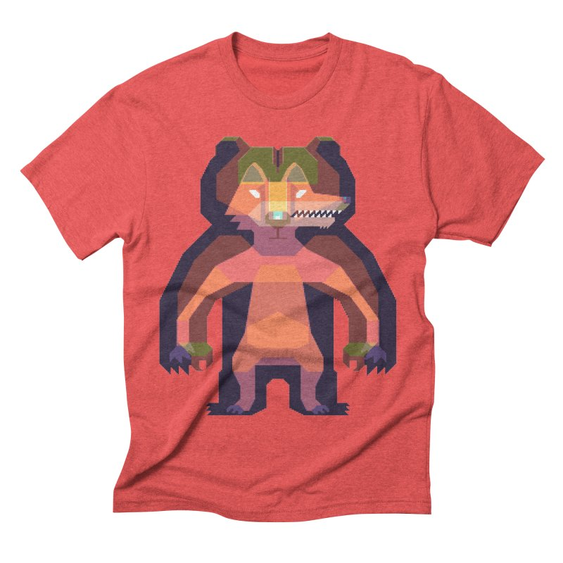 Shapeshifter Men's Triblend T-shirt by AnimalBro's Artist Shop