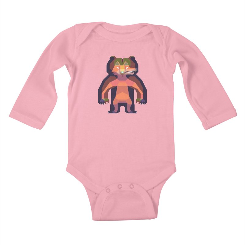 Shapeshifter Kids Baby Longsleeve Bodysuit by AnimalBro's Artist Shop