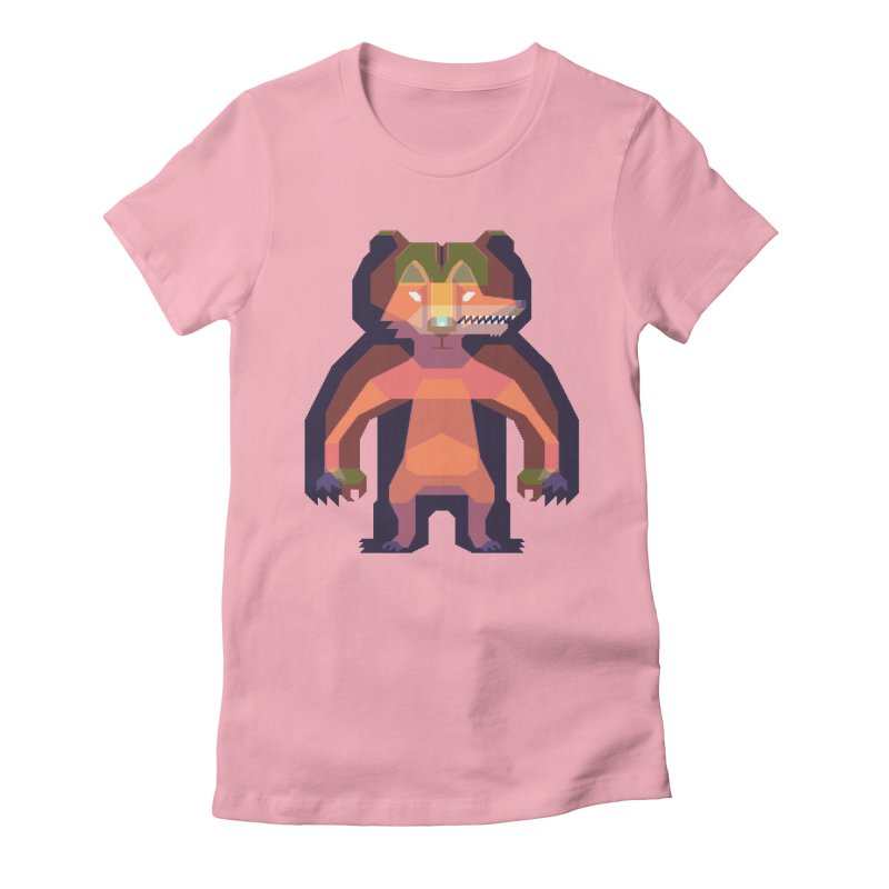 Shapeshifter Women's Fitted T-Shirt by AnimalBro's Artist Shop