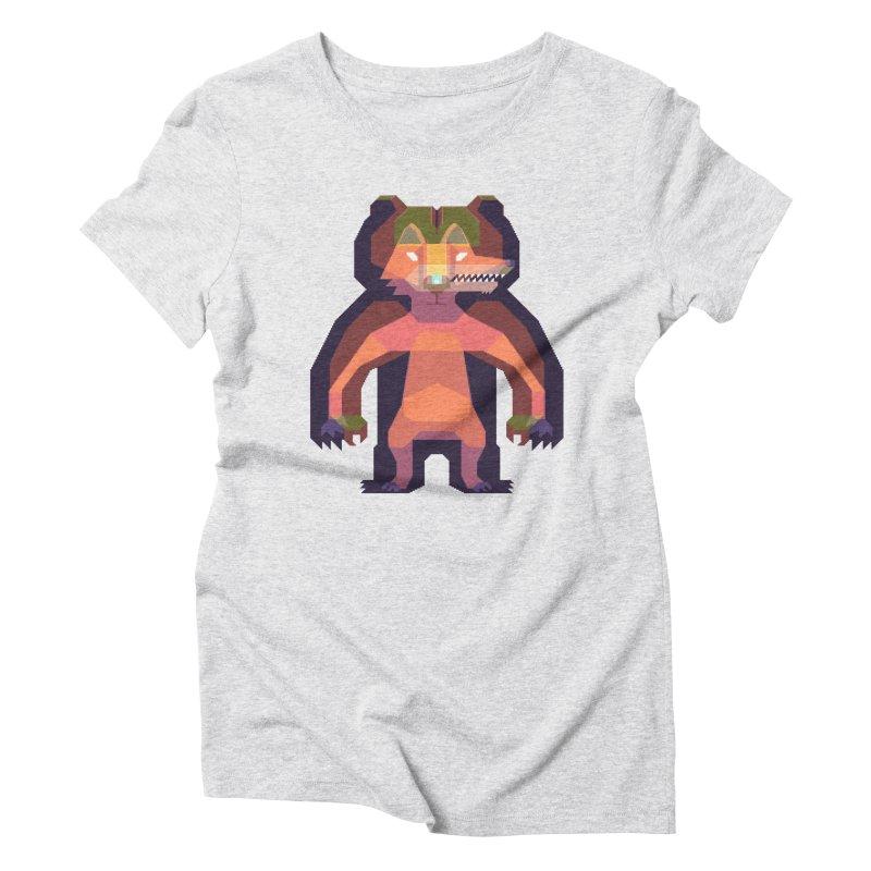 Shapeshifter Women's Triblend T-Shirt by AnimalBro's Artist Shop