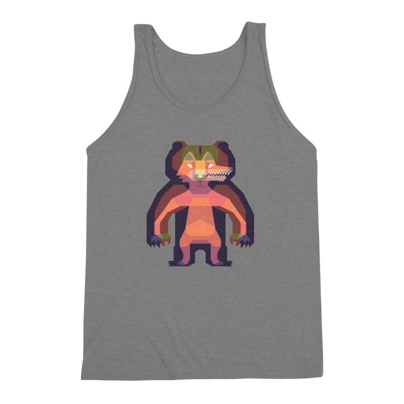Shapeshifter Men's Triblend Tank by AnimalBro's Artist Shop