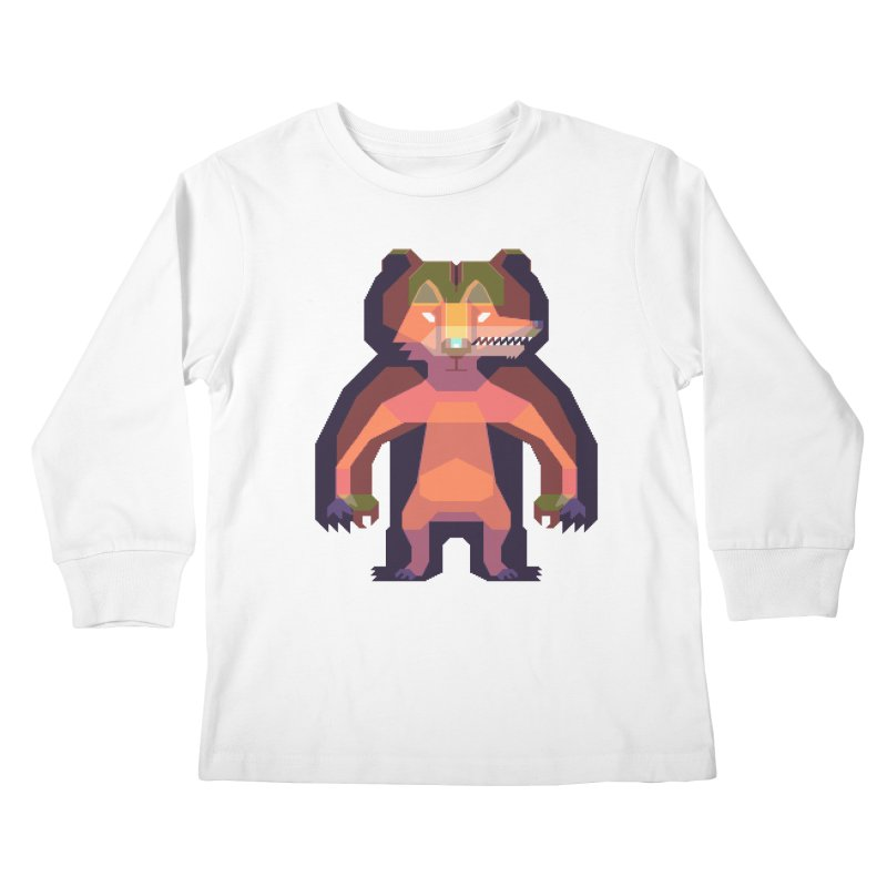 Shapeshifter Kids Longsleeve T-Shirt by AnimalBro's Artist Shop