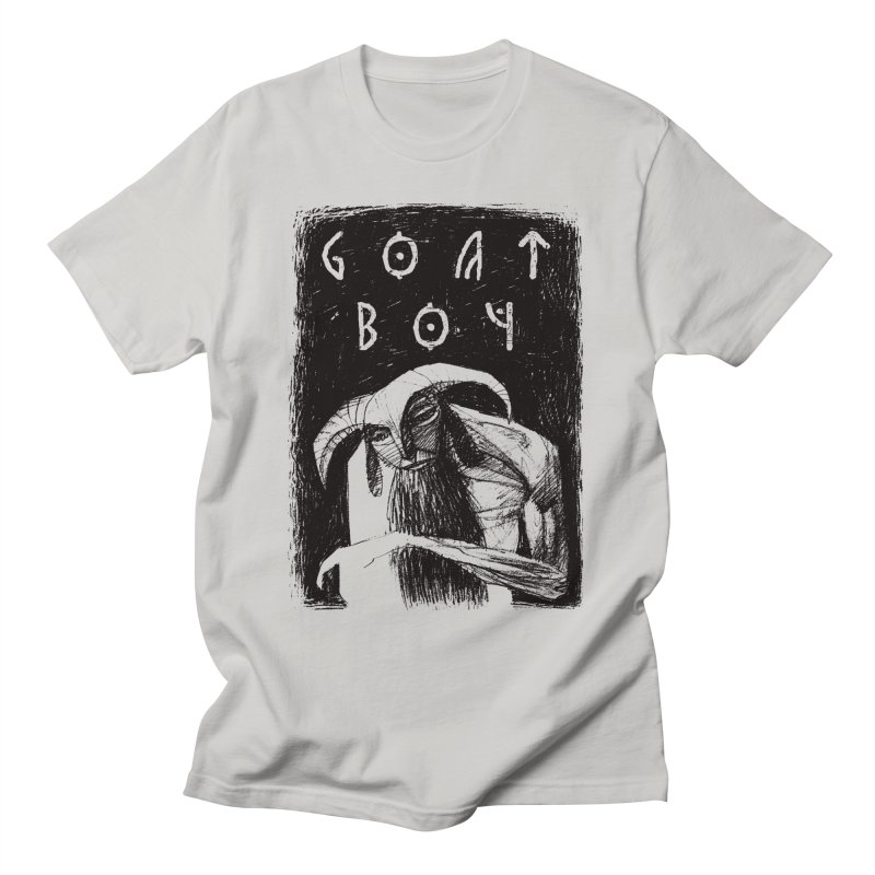 Goat Boy Men's T-Shirt by AnimalBro's Artist Shop
