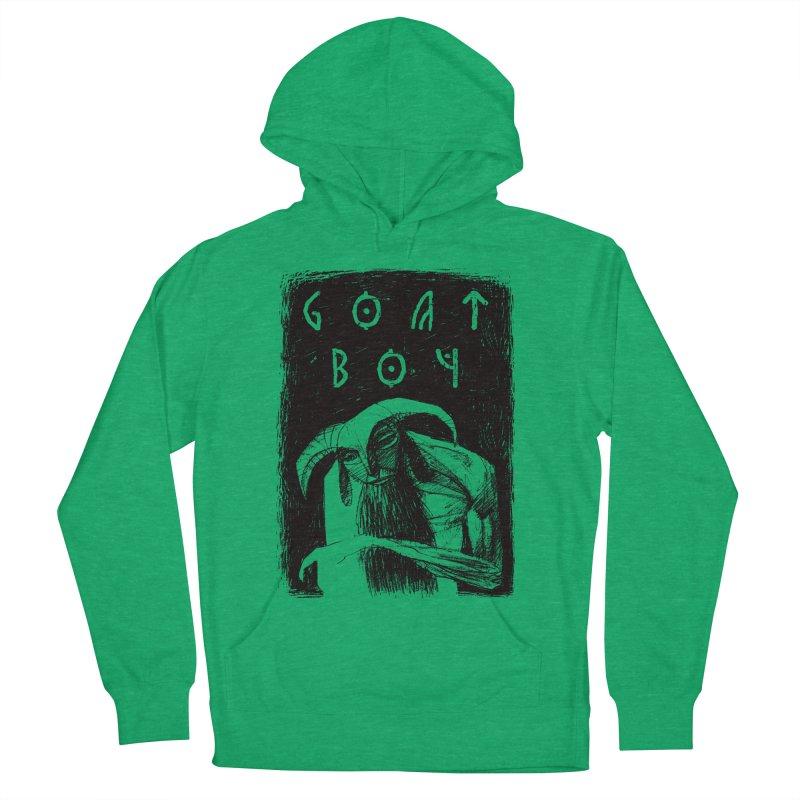 Goat Boy Men's Pullover Hoody by AnimalBro's Artist Shop