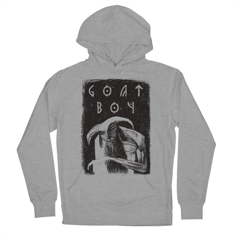 Goat Boy Men's French Terry Pullover Hoody by AnimalBro's Artist Shop