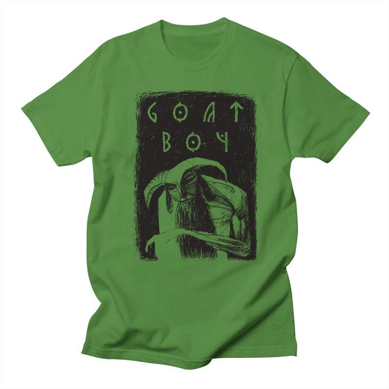 Goat Boy Women's Regular Unisex T-Shirt by AnimalBro's Artist Shop