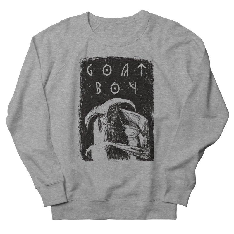 Goat Boy Women's French Terry Sweatshirt by AnimalBro's Artist Shop