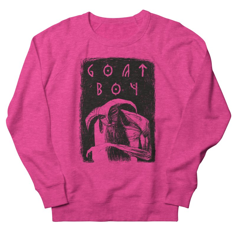Goat Boy Women's Sweatshirt by AnimalBro's Artist Shop