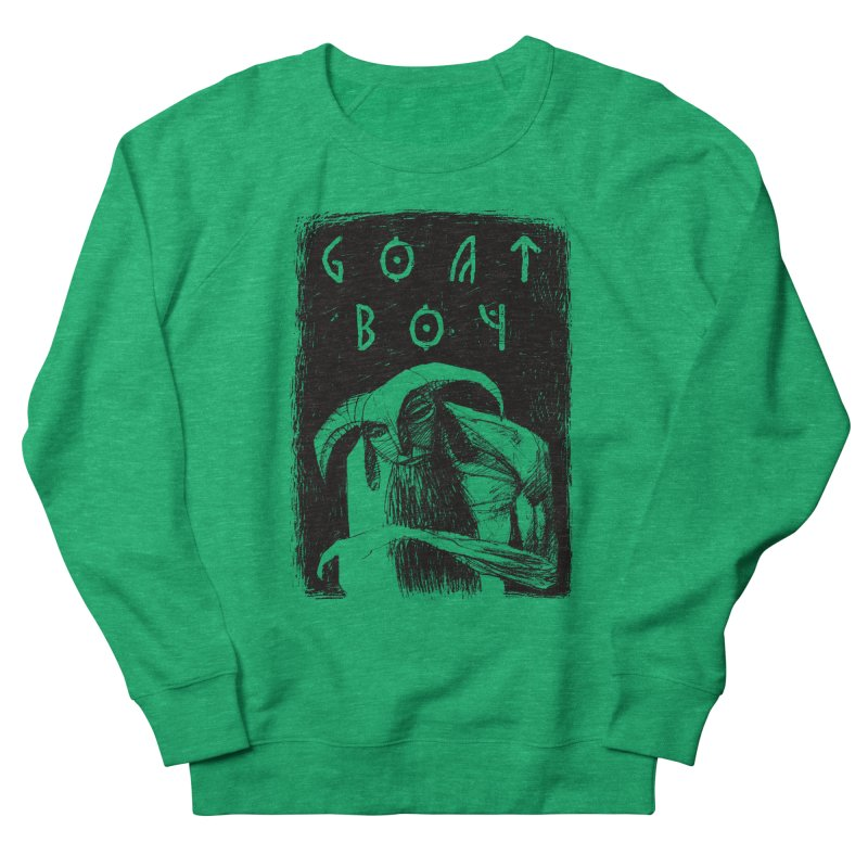 Goat Boy Men's Sweatshirt by AnimalBro's Artist Shop