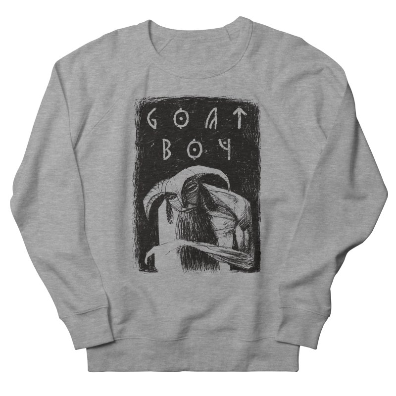 Goat Boy Men's French Terry Sweatshirt by AnimalBro's Artist Shop