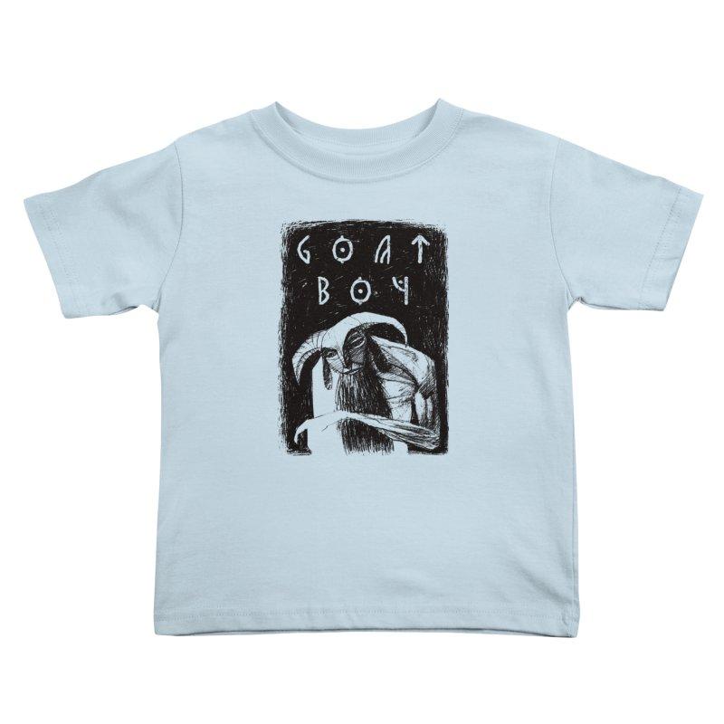 Goat Boy Kids Toddler T-Shirt by AnimalBro's Artist Shop