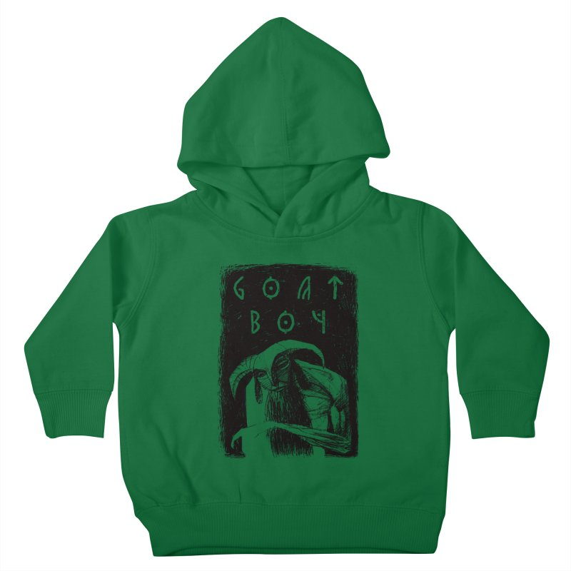 Goat Boy Kids Toddler Pullover Hoody by AnimalBro's Artist Shop
