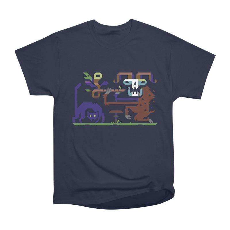 Satyr Women's Heavyweight Unisex T-Shirt by AnimalBro's Artist Shop