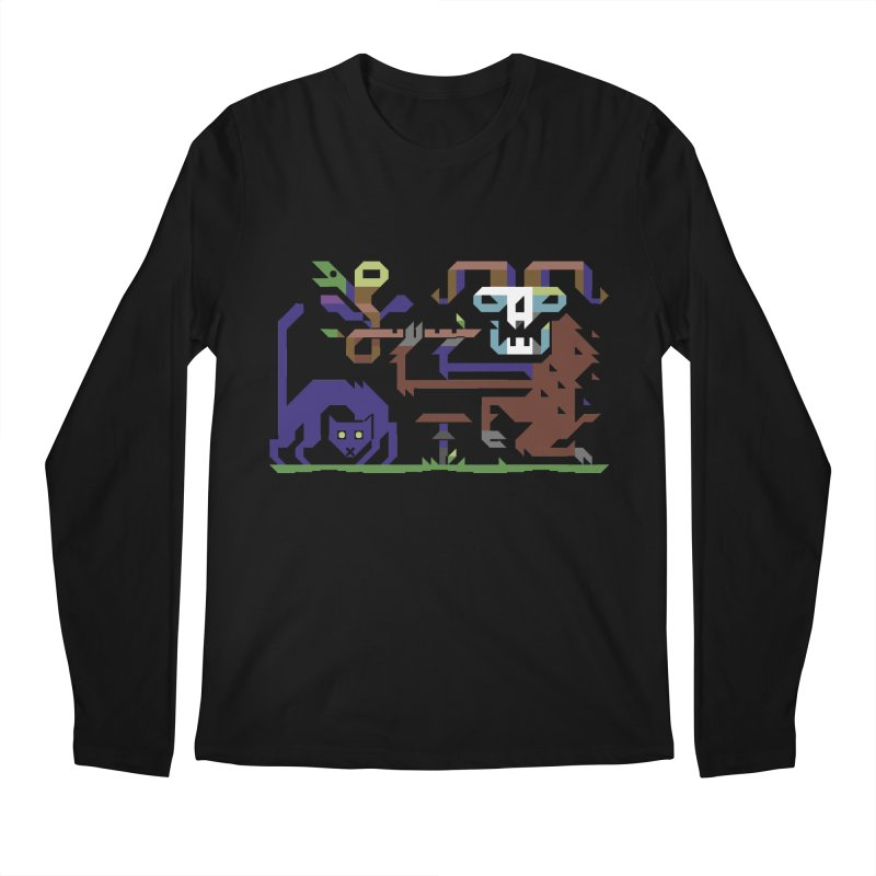 Satyr Men's Longsleeve T-Shirt by AnimalBro's Artist Shop