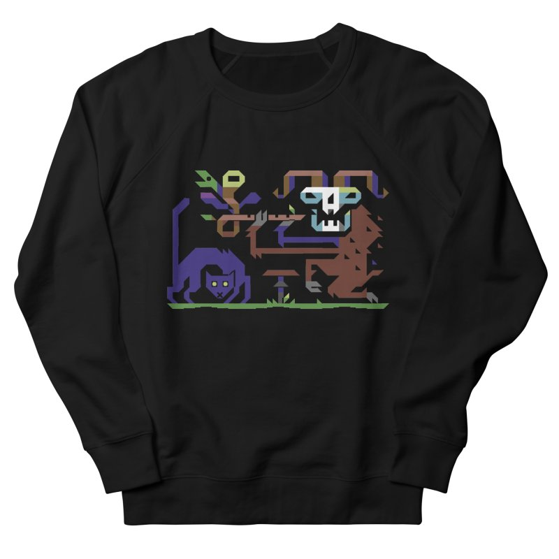 Satyr Women's French Terry Sweatshirt by AnimalBro's Artist Shop