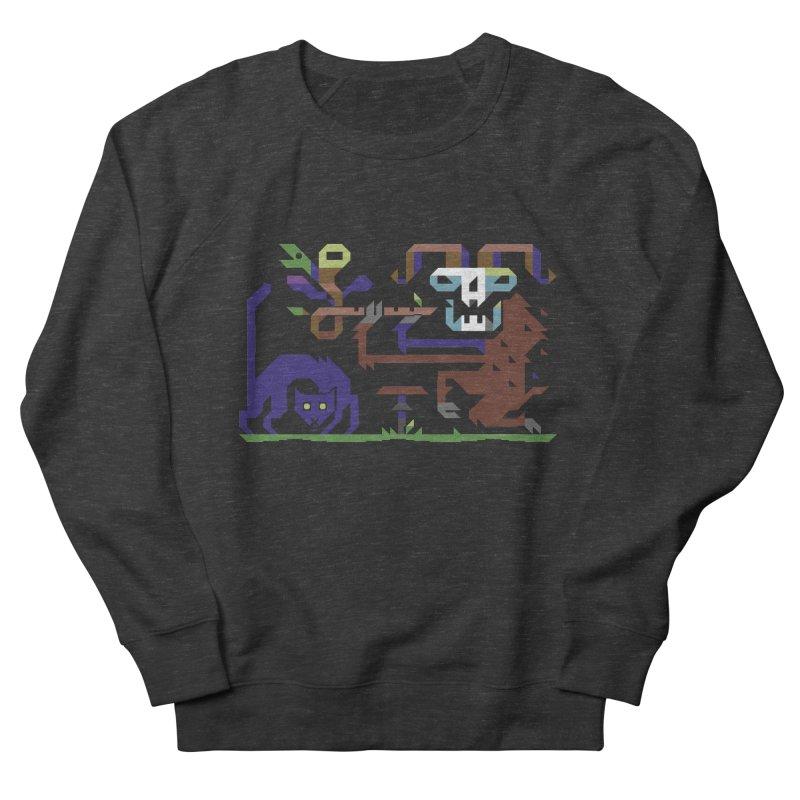 Satyr Men's French Terry Sweatshirt by AnimalBro's Artist Shop