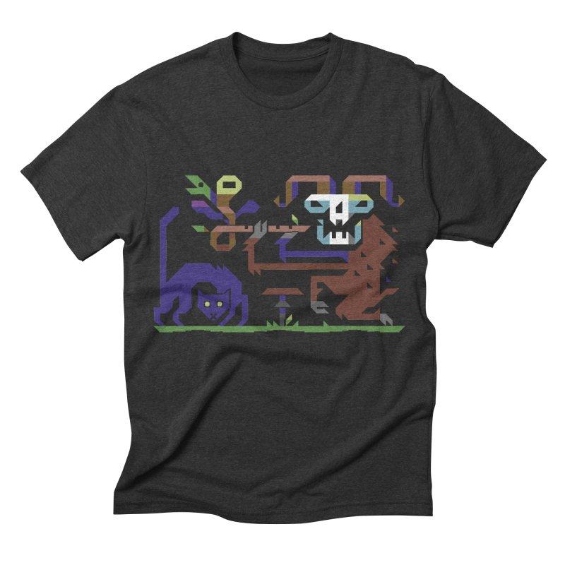 Satyr Men's Triblend T-shirt by AnimalBro's Artist Shop