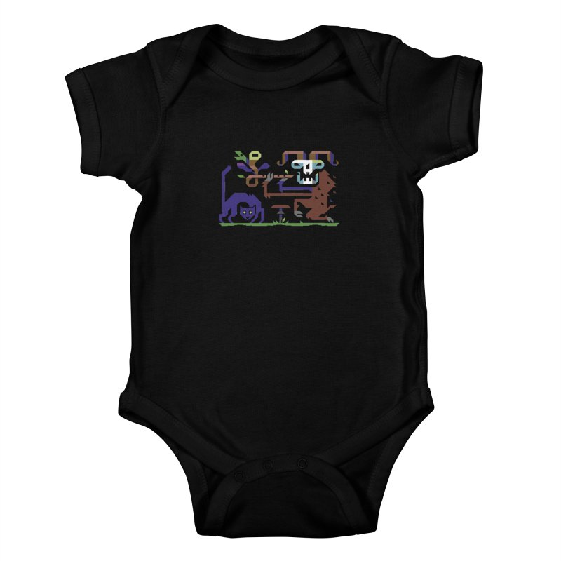 Satyr Kids Baby Bodysuit by AnimalBro's Artist Shop