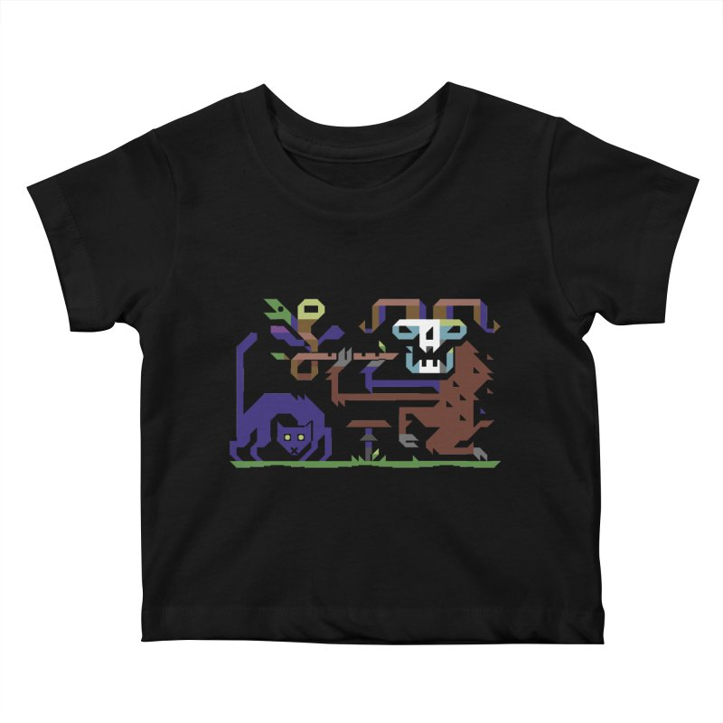 Satyr Kids Baby T-Shirt by AnimalBro's Artist Shop