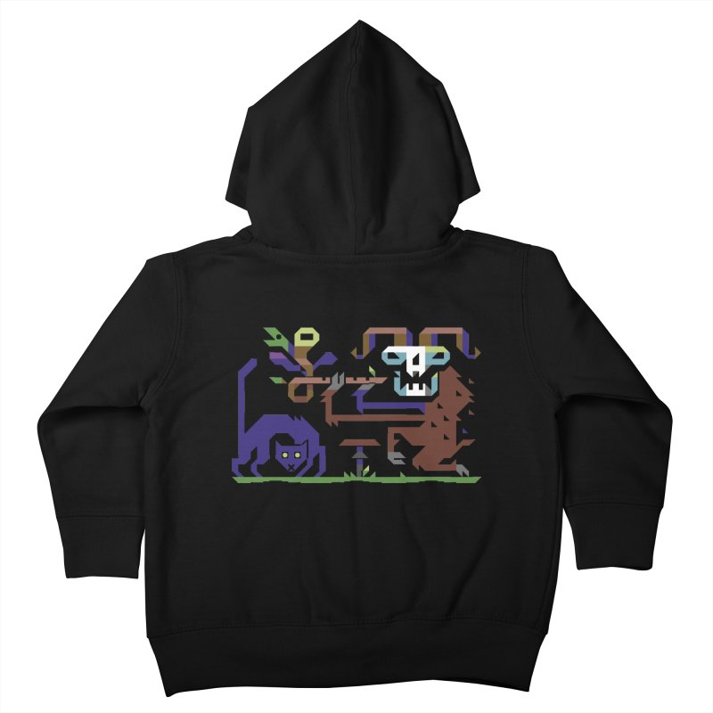Satyr Kids Toddler Zip-Up Hoody by AnimalBro's Artist Shop