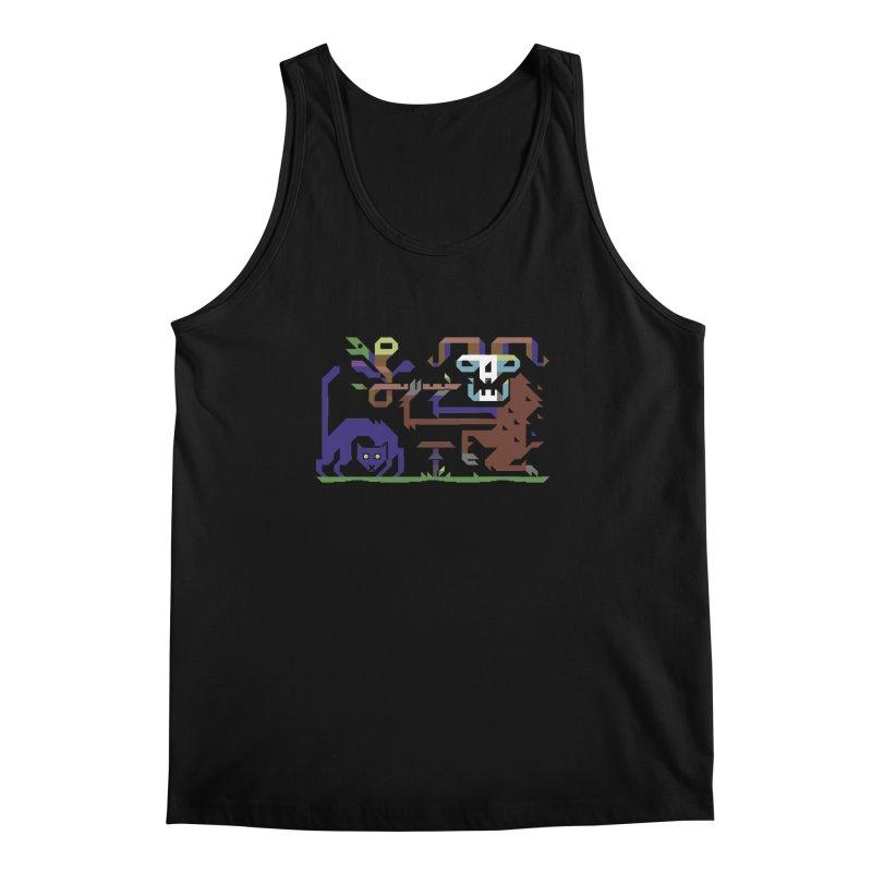Satyr Men's Regular Tank by AnimalBro's Artist Shop