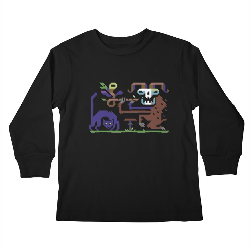Satyr Kids Longsleeve T-Shirt by AnimalBro's Artist Shop