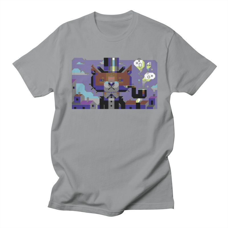 The Game Is Apaw Men's Regular T-Shirt by AnimalBro's Artist Shop